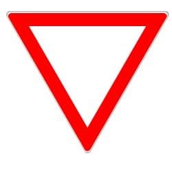 """Vorfahrtsregeln: Das Zeichen """"verkehrsberuhigter Bereich"""" ist ggf durch das Schild """"Vorfahrt gewähren"""" zu ergänzen."""
