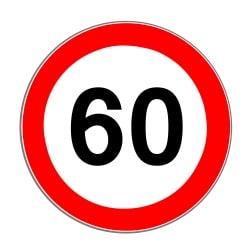 Die Höchstgeschwindigkeit kann auf Bundesstraßen durch das Verkehrszeichen Nr. 274 vorgegeben werden.