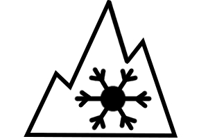 Winterreifenpflicht: Ab 2018 hergestellte Winterreifen müssen das Alpine-Symbol tragen.
