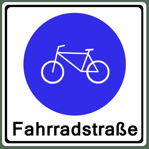 Verkehrszeichen 244-1