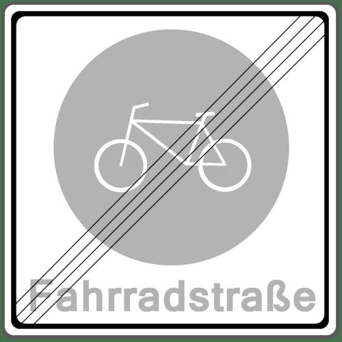 Verkehrszeichen 244-2