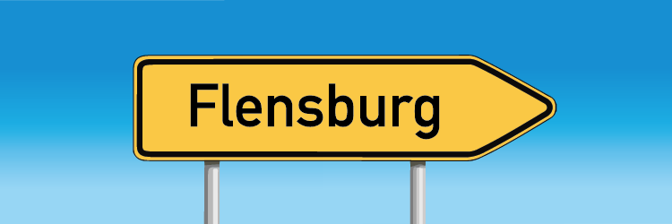 Flensburg-Punkte-Abfrage: Eine Auskunft kann in Flensburg direkt erfolgen.
