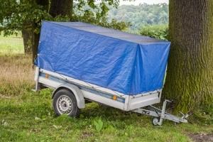 Auch bei einem Anhänger ist die Ladungssicherung wichtig.